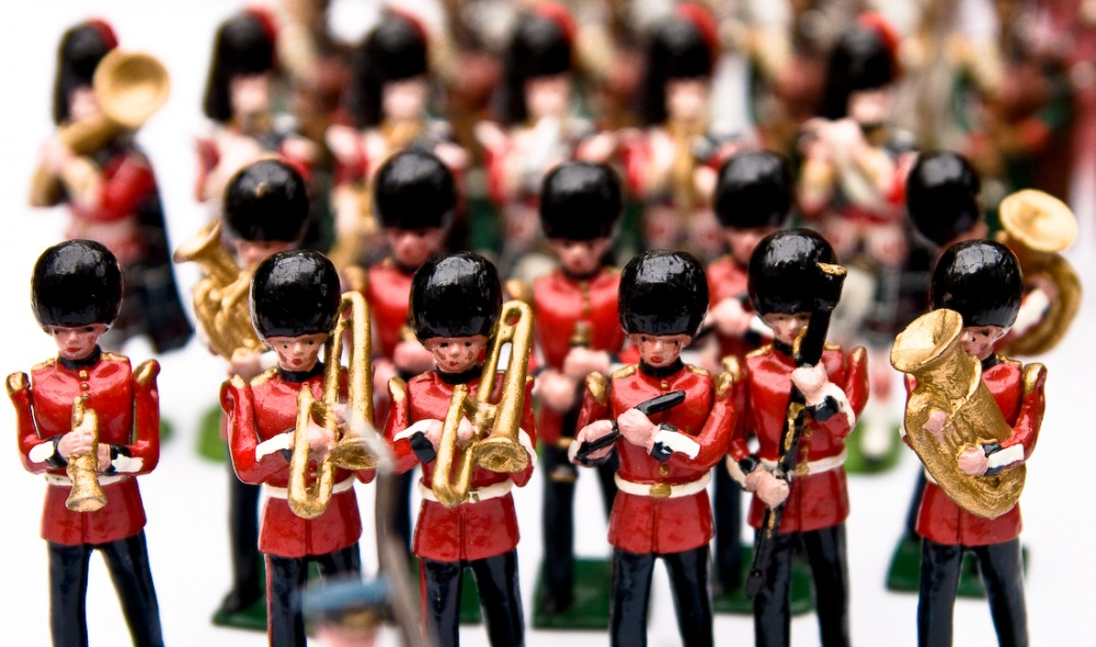 photoblog image Toy Soldiers
